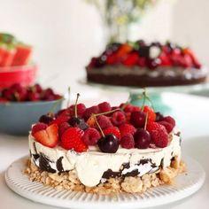 Norwegian Food, Good Food, Yummy Food, Oreo Cheesecake, Cake Cookies, No Bake Cake, Amazing Cakes, Skagen, Tapas