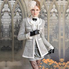 Jacket Winter Fashion 2013   2013 fashion women winter long women's stylish coat ladies winter coat ...