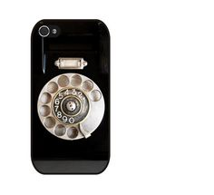 Rubber Case Vintage Rotary Phone case for iPhone 4s/4 ($13.99) - Svpply