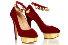 Charlotte Olympia does it every time. Even with her Jingle Bell #Shoes