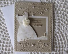 Handmade Greeting Card: Wedding/Engagement by ConroysCorner