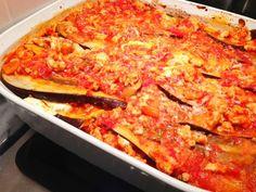 Healthy eggplant lasagna Healthy Eggplant Lasagna, Veggie Lasagna, Eggplant Parmesan, Cooking Recipes, Healthy Recipes, Healthy Meals, Healthy Food, Good Food, Yummy Food
