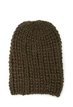 Chunky Knit Beanie | FOREVER21 - 2000118809 One size Color: Rust
