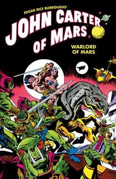 Comic of John Carter of Mars