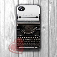 Once Upon A Time Typewriter -5ho for iPhone 6S case, iPhone 5s case, iPhone 6 case, iPhone 4S, Samsung S6 Edge