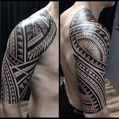 tattoos for men, tribal tattoo, tribal shoulder tattoo, tribal tattoo template Tribal Shoulder Tattoos, Tribal Tattoos For Men, Tribal Sleeve Tattoos, Trendy Tattoos, Tattoo Shoulder, Cool Chest Tattoos, Chest Tattoos For Women, Arm Tattoos For Guys, Polynesian Tattoo Designs