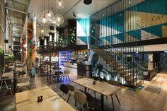 Bluetrain restaurant by Studio Equator, Melbourne - Australia
