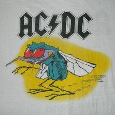 Vintage rock band tour t-shirt print ACDC Vintage Band Tees, Vintage Rock, Vintage Music, Vintage Shirts, Vintage Metal, Metal T Shirts, Rock T Shirts, Tee Shirts, Folk Music