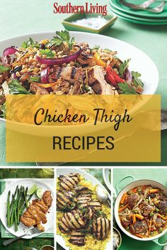 Flavorful Chicken Thigh Recipes | Chicken thighs are a delicious and budget-friendly staple to keep on hand so you can make these savory recipes at any time.