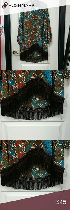 Uncle Frank shirt Fringe Tops