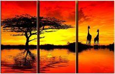 landscape AFRICAN SUNSET II