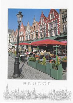 PK1267. Brugge. Belgien.