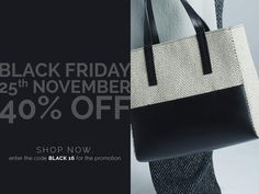 Black Friday: don't miss the offer! Only for 25th November 2016 - Using the code BLACK 16 #blackfriday