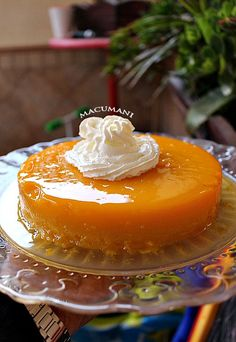 Cuban Desserts, Cuban Recipes, Cookie Desserts, Sweet Desserts, Delicious Desserts, Cake Recipes, Dessert Recipes, Flan Recipe, Candy S