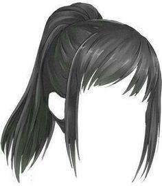 Cute Eyes Drawing, Girl Hair Drawing, Drawing Base, Drawing Tips, Manga Clothes, Drawing Anime Clothes, Hair Reference, Art Reference Poses, Anime Girl Hairstyles