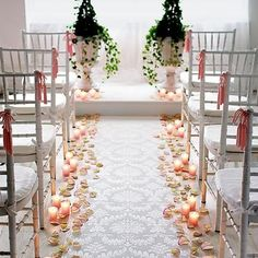 Candle Aisle Decorations Cheap Wedding Reception Wedding Church Budget Wedding Reception Ideas
