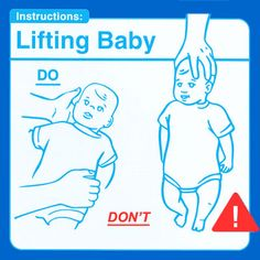 Is our society so clueless that we really need these instructions?  Sad!