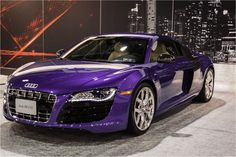 Audi #R8: Formidable blend of #luxury and #performance.