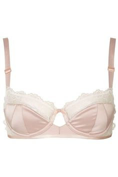 83e70c7e85f Pad Balconette Bra Details Lightly padded balcony bra with underwired cups  for smooth shape and added support.
