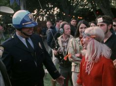 Picture from the Monterey Pop Festival in 1967.