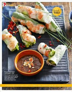 Fast food. Clipped from Better Homes and Gardens using Netpage.