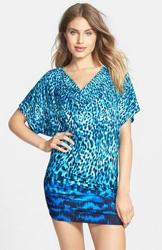 Finding a swimsuit that flatters your figure is only half the battle when it comes to looking and feeling fabulous at the beach. A pretty beach cover-up also helps boost your confidence and adds sizzle to your look. Swimsuit Cover Up Dress, Fashion Advice, Cute Dresses, What To Wear, That Look, Swimsuits, Casual, Pattern, Style