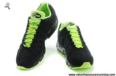 check out 7784c 567e5 Noir Volt Nike Air Max 95 EM Hommes