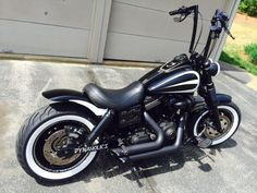 Ken's 2014 Harley Fat Bob fitted with the extended length Voodoo Fender. | Rocket Bobs