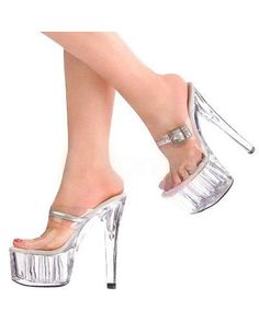 Lite Up Extreme Heel Stripper Shoes
