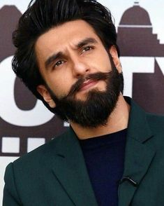 The best all-natural beard care products for growing, treating, and styling beards in 2018 from Beard and Company. Beard oil, beard balm, beard shampo… - New Site Ranveer Singh Hairstyle, Ranveer Singh Beard, Beard Styles For Men, Hair And Beard Styles, Indian Celebrities, Bollywood Celebrities, Beard Shampoo And Conditioner, Deepika Ranveer, Bae