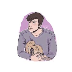 Wallpaper Stickers, Cartoon Wallpaper, Bae, Chon Mendes, Shawn Mendes Wallpaper, My Future Boyfriend, Charlie Puth, Funny Wallpapers, Character Illustration
