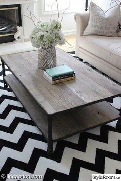 soffbord,återvunnit trä