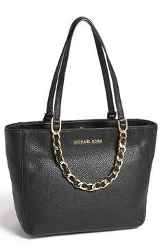 MICHAEL Michael Kors 'Harper - Medium' Leather Tote available at #Nordstrom