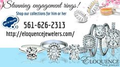 Looking to buy diamond rings for your special occasion?  Explore our array of beautiful designs and find the one which match your needs. Make your day very special with our collection. Call now 561-626-2313 or visit our website today.