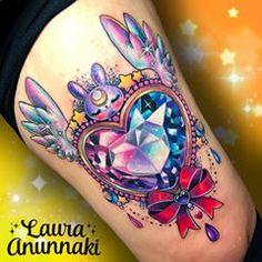 Badass Tattoos, Cute Tattoos, Body Art Tattoos, Tattoo Drawings, New Tattoos, Sleeve Tattoos, Kawaii Tattoos, Tatoos, Awesome Tattoos