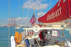 The Crew of Sailing Vessel Lionheart Sailing, Fun, Candle, Boating, Funny