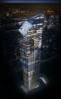 Century Spire, Phillipines - Groundbreaking held for Armani/Casa and Studio Daniel Libeskind's 60-storey Manila tower