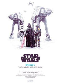 Star Wars Episodes I-VI by Jaehwa Lee