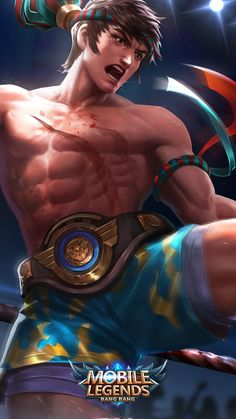 Wallpaper Chou King of Muay Thai Skin Mobile Legends Full HD for Android and iOS Mobile Legend Wallpaper, Hero Wallpaper, Wallpaper Iphone Cute, Supreme Wallpaper, Bruno Mobile Legends, Mobiles, Moba Legends, Alucard Mobile Legends, Legend Images