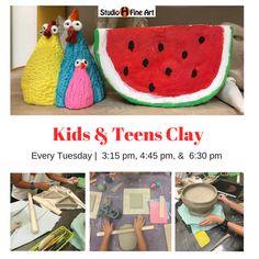 e98eeb943 Sculpting & Clay Classes for ages 5+. Clay Classes, Summer Camps, Pot