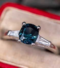3 Carat Engagement Ring, Shop Engagement Rings, Color Change Sapphire, Mens Band Rings, Three Stone Rings, London Blue Topaz, Blue Topaz Ring, Unique Rings, Fine Jewelry