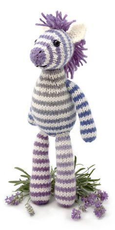 zebra knitting pattern