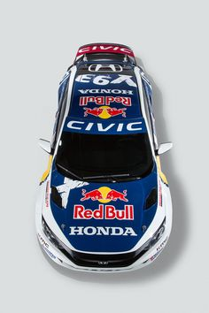Honda's newest coupe will compete at the 2016 Red Bull Global ...