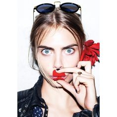 Cara Delevingne Loves to Get Dressed Up in Full Body Animal Suits,... ❤ liked on Polyvore