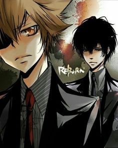 Tsuna and Hibari