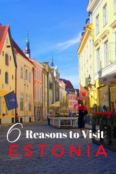 See why you should put Tallinn and Estonia on your travel wish list! 6 Fantastic Reasons to Visit Estonia including the food, culture and history.