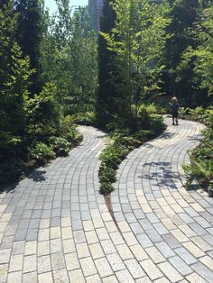 curving paver waterfront - Google Search