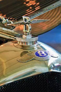 1927 Bentley 6 1/2 Litre Sports Tourer Hood Ornament by Jill Reger
