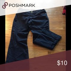 "Flare jeans Have been hemmed to fit a 5'1"" frame. GUC Mossimo Supply Co Jeans Flare & Wide Leg"
