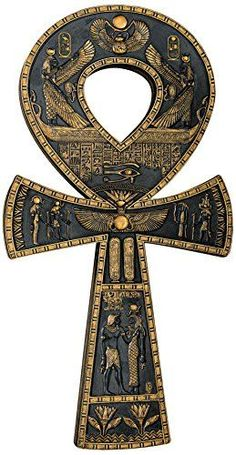 Design Toscano Ancient Egyptian Ankh Wall Plaque Design T